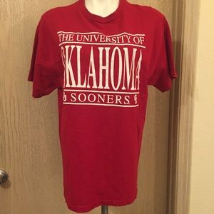 The University of Oklahoma | Size Large | Red